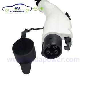 Image 5 - DUOSIDA 110V 240V AC Power 16A 32A Type 1 Connector  EVSE Charging J1772 Ev Gun