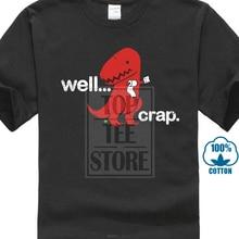 b3dffe168 Hip Hop Cotton Men T Shirts Well Crap T Shirt Tyrannosaurus Rex T Rex Dinosaur  T