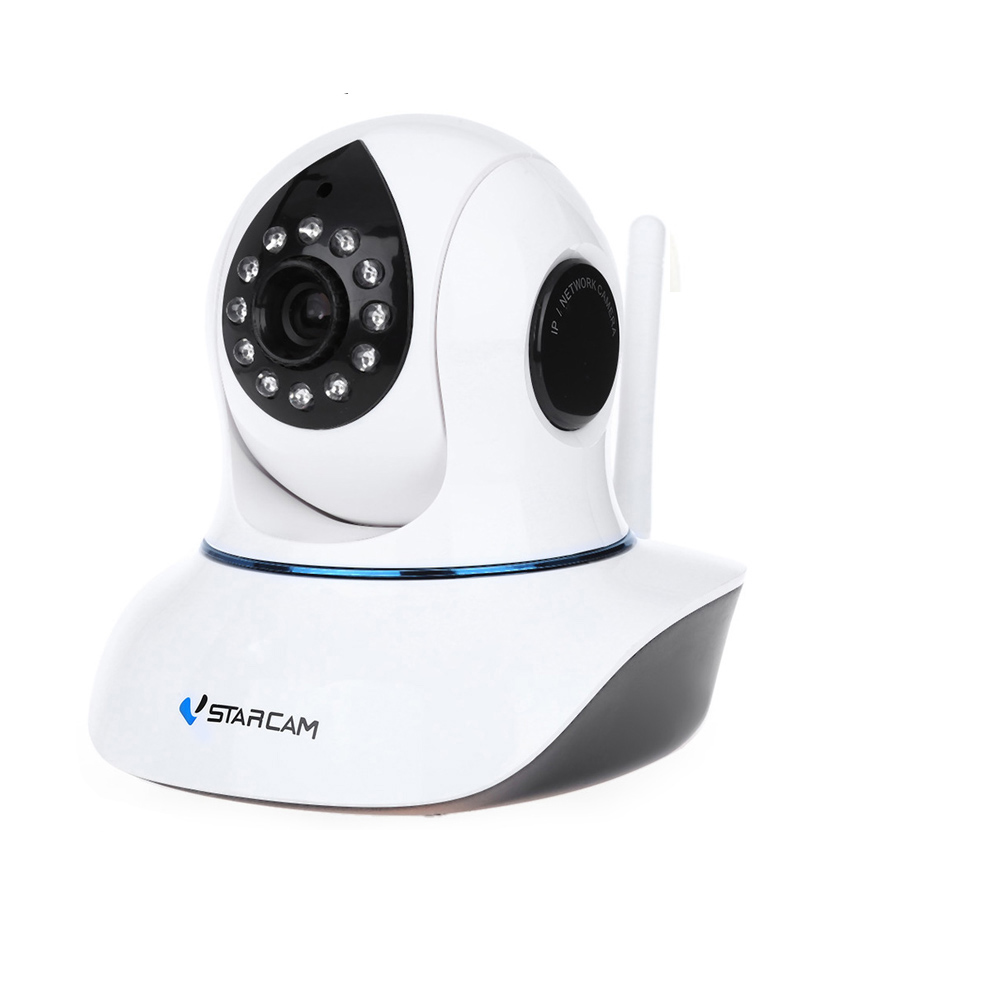 C7838WIP Draadloze WiFi Beveiliging Netwerk IP Camera Remote Surveillance 720 P HD Indoor Pan Tilt Zoom Audio Opname Cam