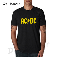 2018 New Camisetas AC DC Band Rock T Shirt Mens Acdc Graphic T shirts Print Casual