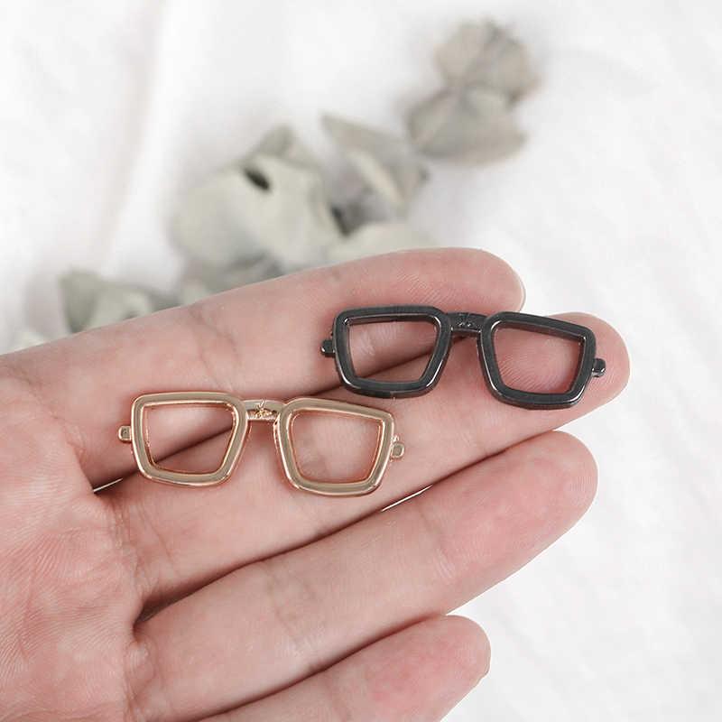 Mode Retro Tiny Sonnenbrille Metall Emaille Brosche 11 arten Gläser Pins Für Frauen Männer Denim Jacken Revers Pin Sommer Schmuck