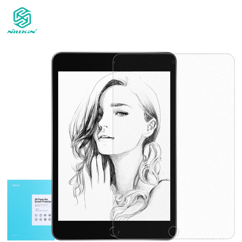 Nillkin Paper like Screen Protector for iPad Air 2019 and for iPad Pro 10.5 2017 Matte Paper Texture Sketch Film|Tablet Screen Protectors| |  - title=