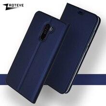 Xiaomi Pocophone F1 Case Cover Flip Leat