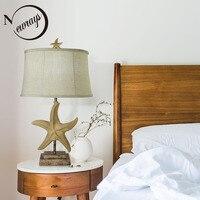 Nowoczesny oszczędny żywicy lampy biurko rodziny dekoracyjna lampka stołowa sypialni hotelu nocna lampa stołowa LED salon biuro lampka nocna w Lampy stołowe LED od Lampy i oświetlenie na
