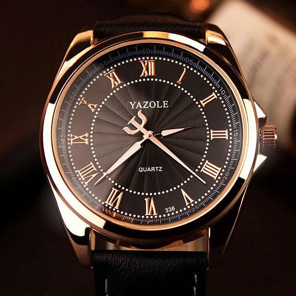 Prix pour YAZOLE Montres Busiiness Montre-Bracelet Hommes Top Marque De Luxe Célèbre Mâle Horloge À Quartz Montre pour Hommes Hodinky Relogio Masculino