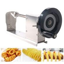 ITOP резак для картофеля фри витая спираль картофеля овощерезка для фруктов с 3 лезвиями кухонные инструменты