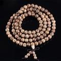 Ubeauty Vietnamita incenso agarwood Naturais 108 contas de 6mm 8mm Buda oração contas malas pulseiras Rosário Pulseira De Madeira Da jóia