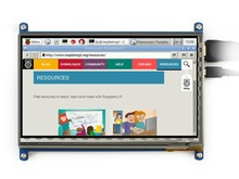 Best Buy module Waveshare 7inch LCD 800×480 Rev2.1 HDMI Touch Screen Display Support Raspberry Pi A+/B+/2 B/3 B Banana Pi/Pro BeagleBone