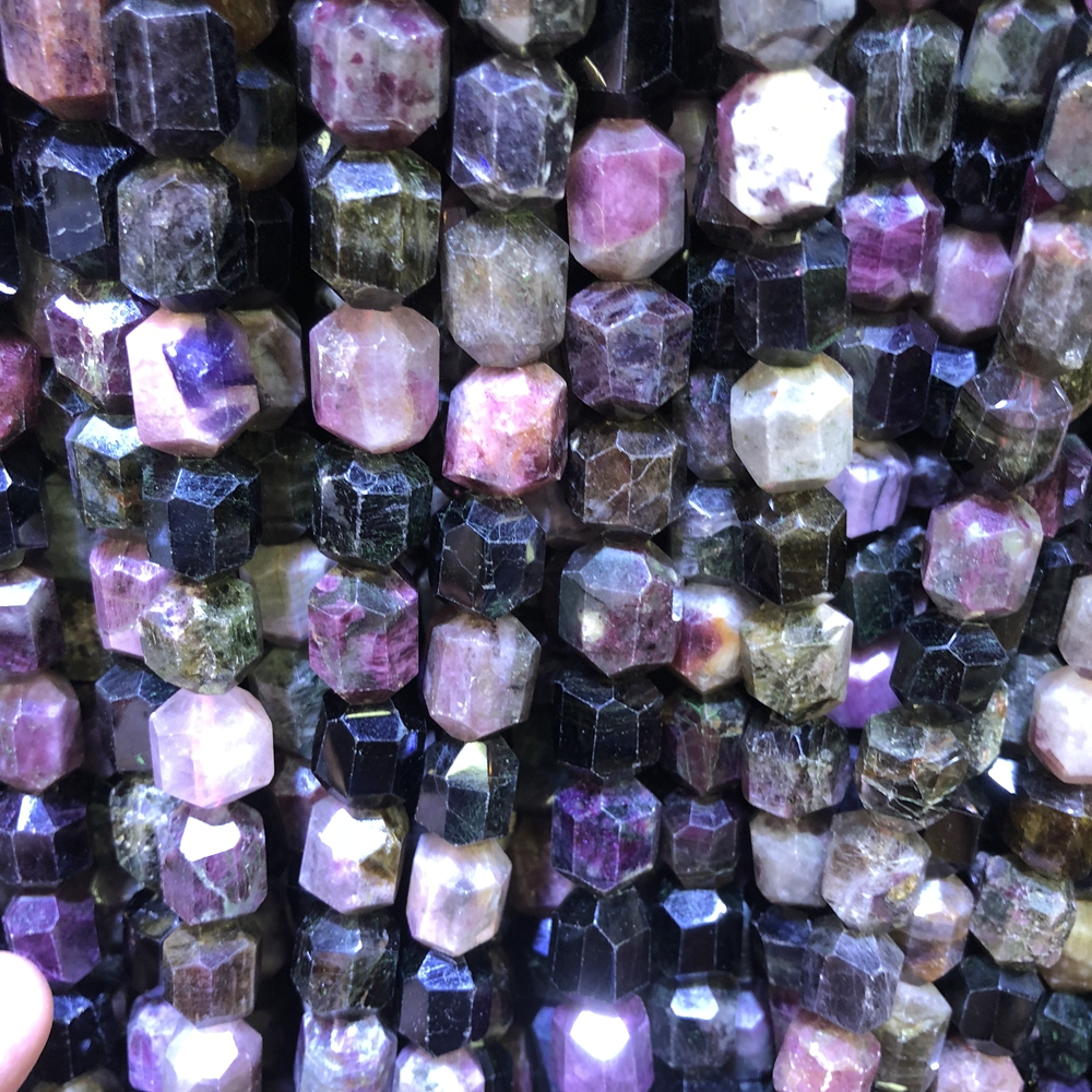 Beads Wholesale3strings/lot Clear Quartz Plated Rainbow Quartz Point Beads For Jewelry 15.5inch Length