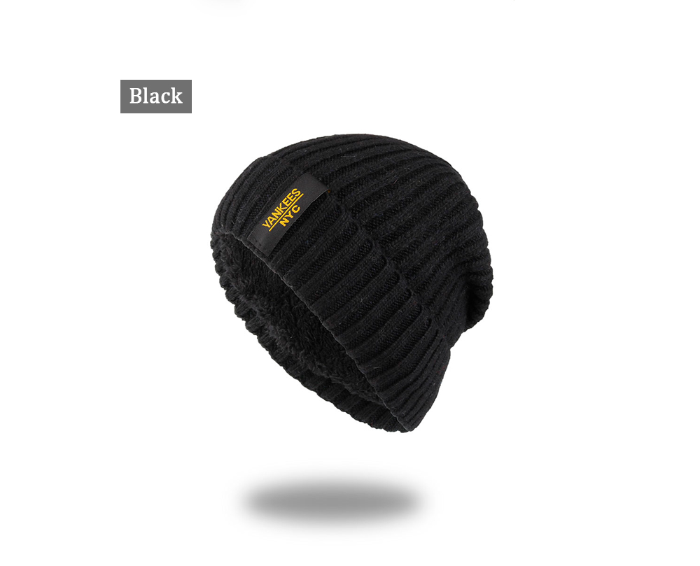 f92064aea78 AKIZON Winter Autumn Beanies Hat Unisex Warm Soft Skull Knitting Cap ...