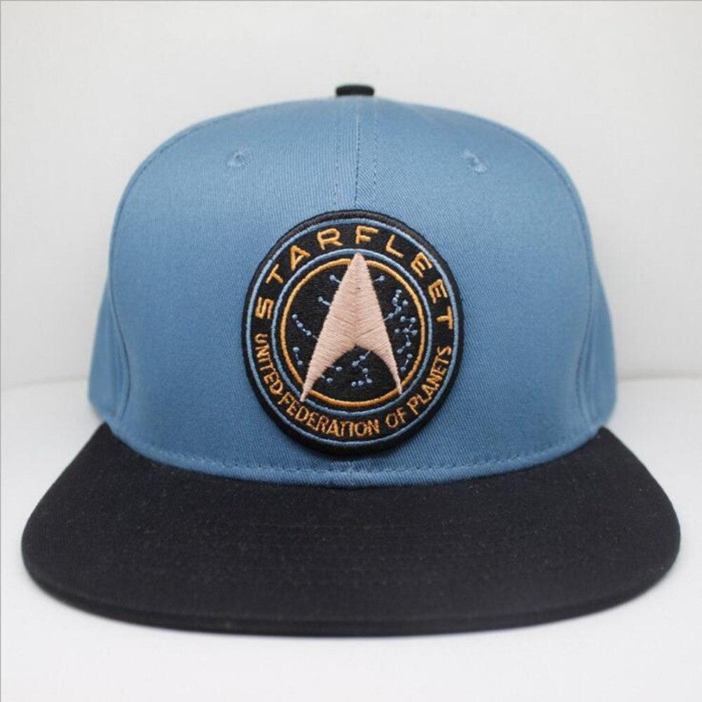 Star Trek Cosplay Kappe blaue Neuheit Die Unentdeckte Land Hüte cartoon damen kleid mans Hat charms Kostüm Requisiten Baseball cap