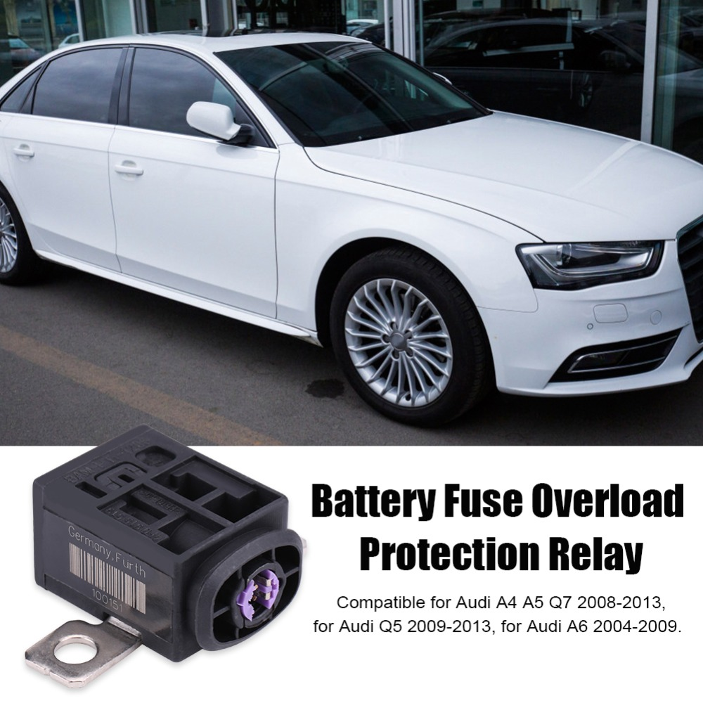 Car Battery Fuse Overload Protection Control Relay Accessories 2009 Audi A4 Box Qc05040 3