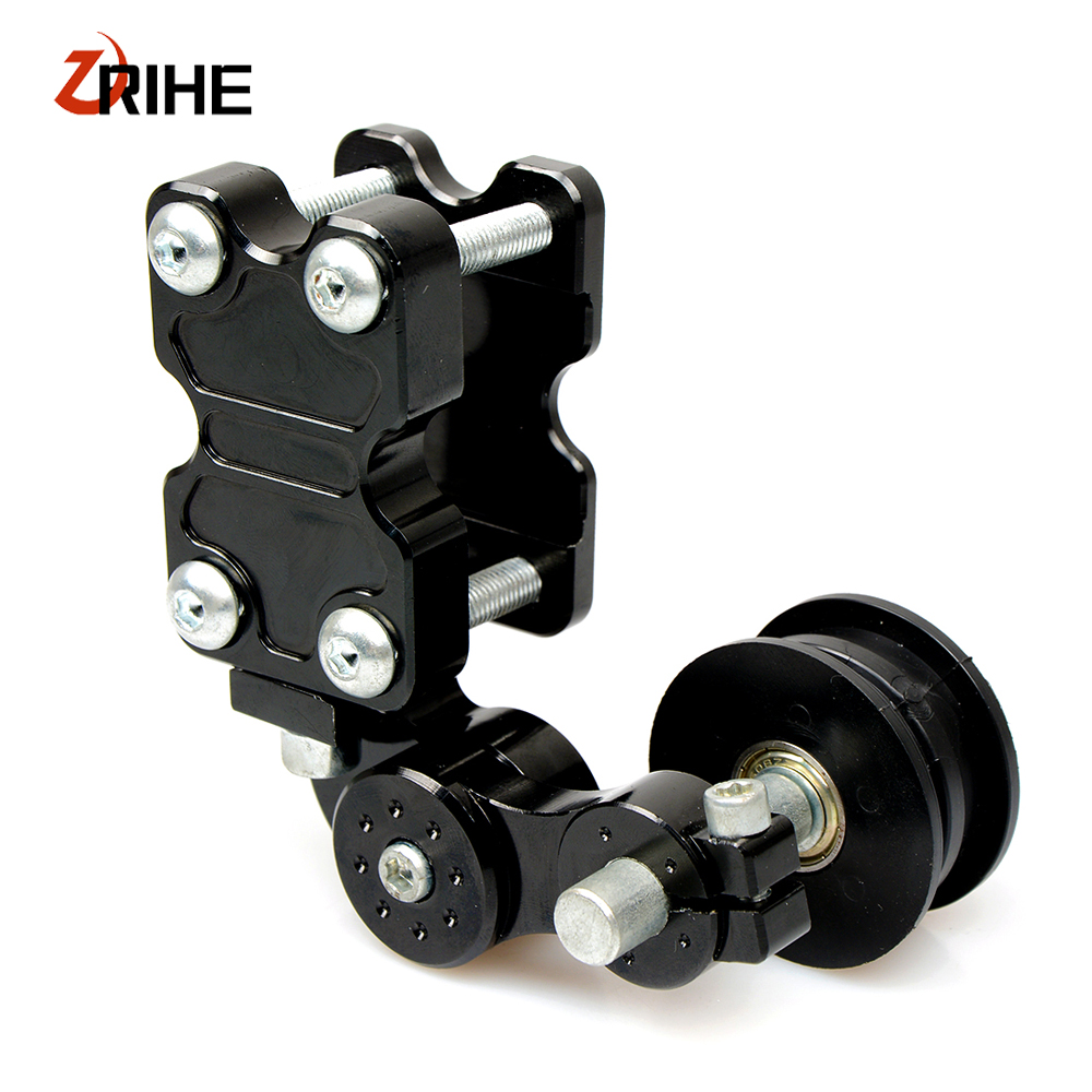 Universal CNC motorcycle chain tensioner sprocket/pulley/chainsaw for  aprilia dorsoduro 750 shiver GT sl1000 falco RSV MILLE R-in Sprockets from  Automobiles ...