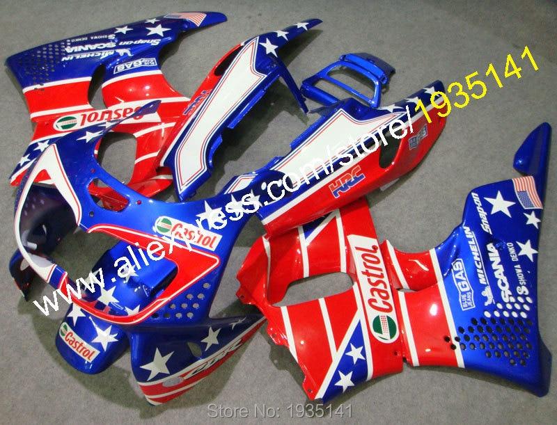 Hot Sales,Body Work Fairing Kits For Honda CBR900RR 94 95 CBR 893RR 1994 1995 CBR 893 CBR 900RR Flag Decals Motorcycle Fairing