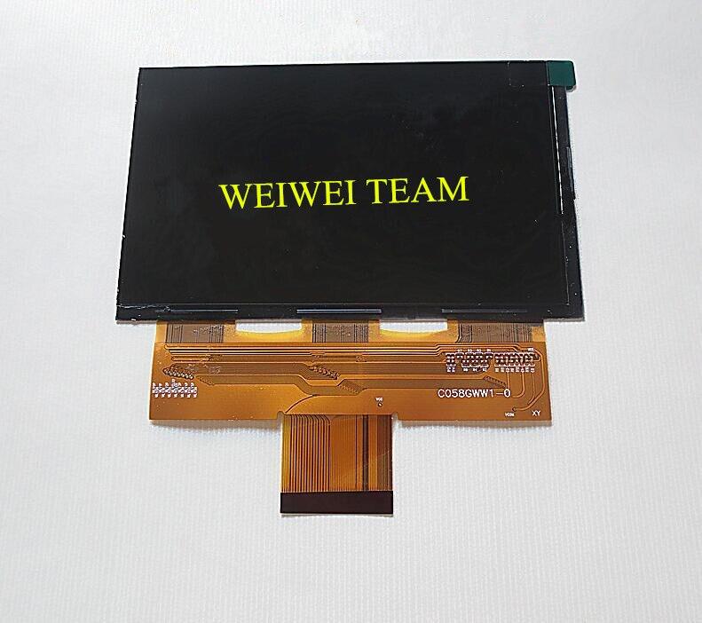 Абсолютно Новый 5,8 дюймов проектор ЖК-экран C058GWW1-0 дисплей Панель разрешение 768x1280 diy проектор аксессуары