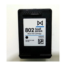 1pcs High quality Black For HP 802 Ink Cartridge HP-802 DJ1000 1050 2050  printer