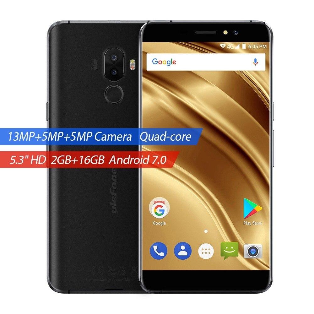 Ulefone S8 Pro 4G Smartphone Dual Rear Cameras MTK6737 Quad Core Android 7 0 2GB 16GB