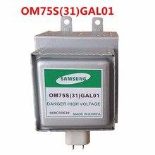 ¡Piezas de horno microondas, horno microondas samsung Magnetron OM75S(31)GAL01 Magnetron reacondicionado!