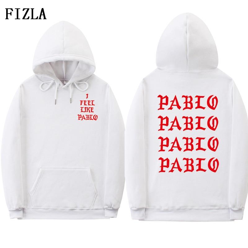 ... hip hop para hombre grande chándal Kanye west tour TEMPORADA 3 ropa  camiseta saint pablo sudaderas. US  19.99 US  16.72. Miedo de la vida de  Pablo a7e6a77417d