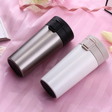 300ml Creative Car Thermos 304 Stainless Steel Coffee Mug Tea Cup Against Hot Mugs for Car Milk Water Bottle Travel Vacuum Flask цена