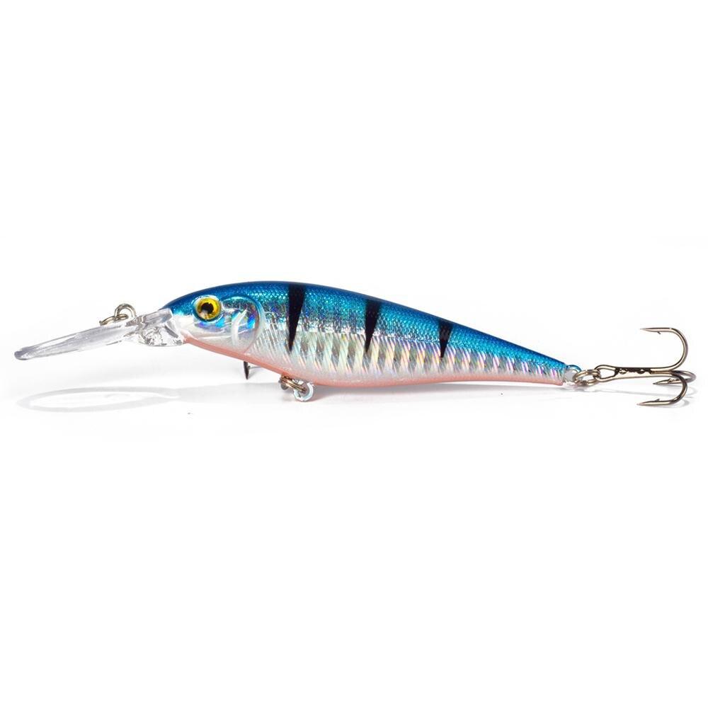 Sealurer рыболовная приманка 1 шт. приманка для щуки гольян 11 см 10,5 г Джеркбейт плавание на глубине воблеры кренкбейт - Цвет: F