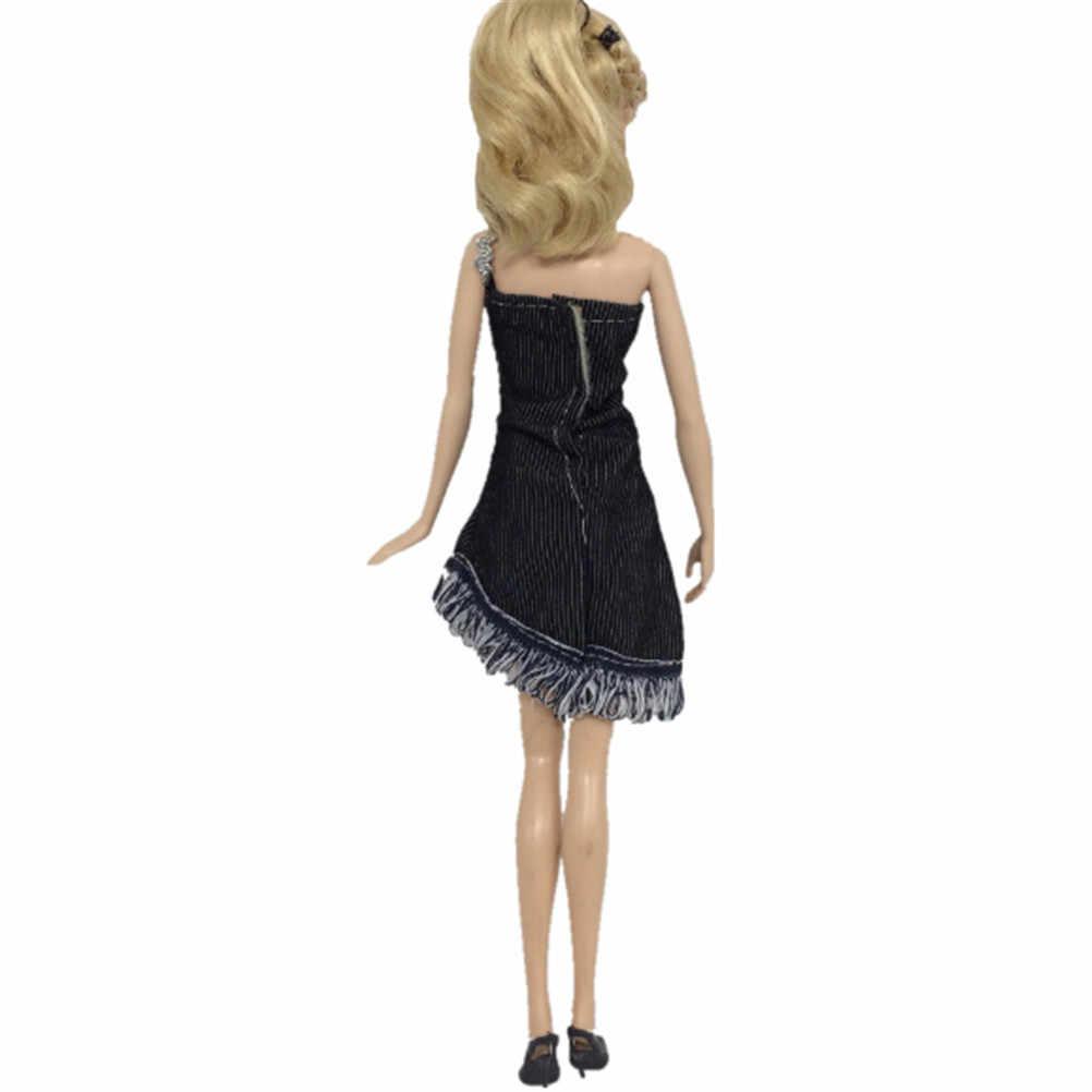 1 комплект ковбойский костюм принцессы для куклы модный сменить наряд джинсы топы брюки юбка шорты для кукол 30 см аксессуары для кукол