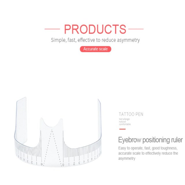 free shipping eyebrow Template Make Up Shaping DIY Beauty Eyebrow Template Stencils Tools Accessories for practice 2