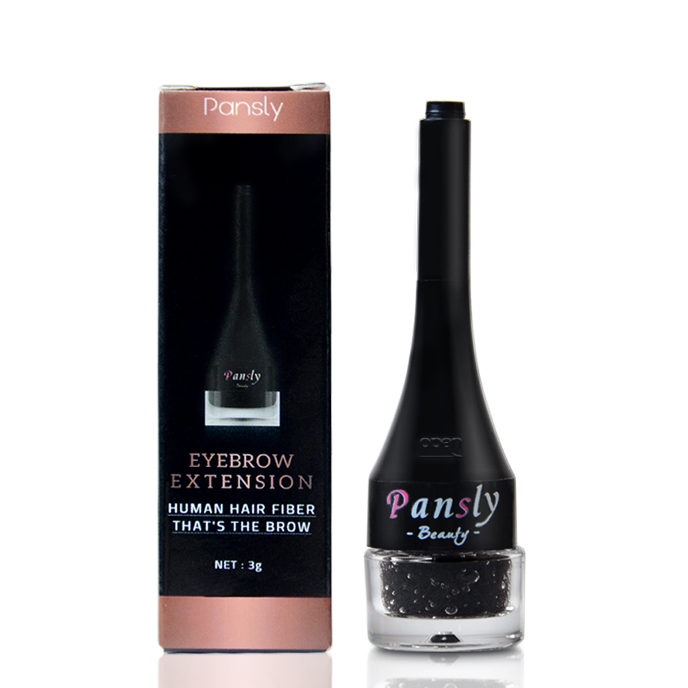 Eyebrow Extension Hair Fiber Gel Waterproof Long-wearing Eyebrow Hairs Shaped Product Fake Eyebrow Builder Black Delightful Colors And Exquisite Workmanship Brown Famous For Selected Materials Novel Designs