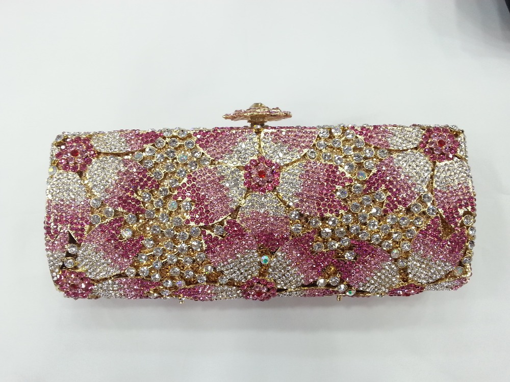Pink Evening Bags Clutches | Luggage And Suitcases