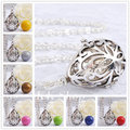 Harmony Bola Ball Mum To Be Gift Silver Plated 30 Inch Chain Necklace To Unbor Baby Angel Sounds Pendant H114