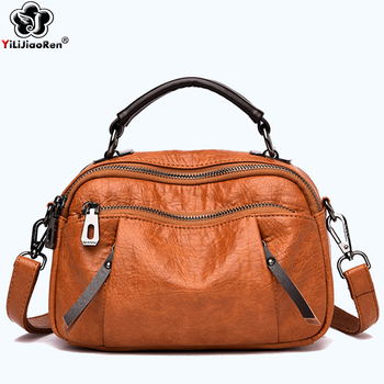 Luxury Women Handbags Designer Brand Leather Shoulder Bag Female Fashion Crossbody Bags for Women Clutch Purse Sac A Main 2019