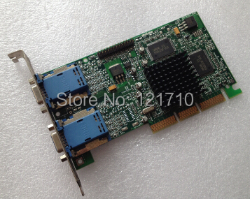 все цены на Industrial equipment display card MATROX AGP 971-0302 REV A G45FMDHA32DB онлайн