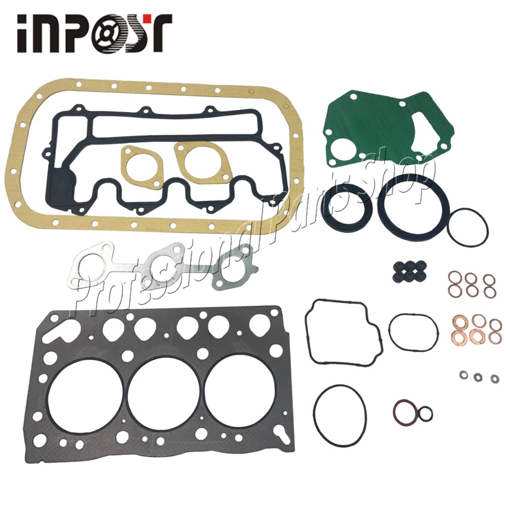 Complete Full Gasket Set With Head Gasket For Hitachi ISUZU 3LB1 Mini Excavator Generator Z 5