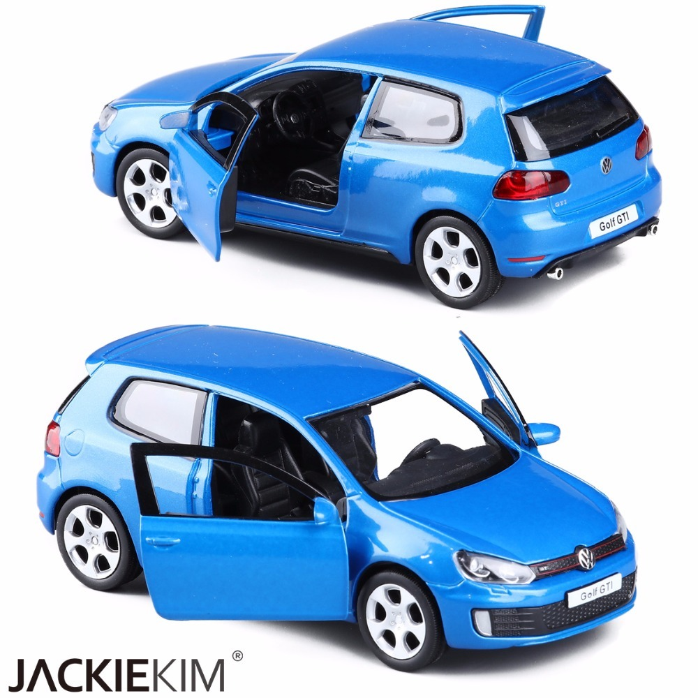 Wenhsin 1/36 VW Golf GTI MK6 Alloy Models Car Diecast Metal Pull Back Car Toy For Kids Birthday Gift Collection