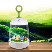 Rabbit Night Light Butterfly Lighting 110V 220V 3modes Touch Sensor Indoor Led Bed Luminaria for Kids