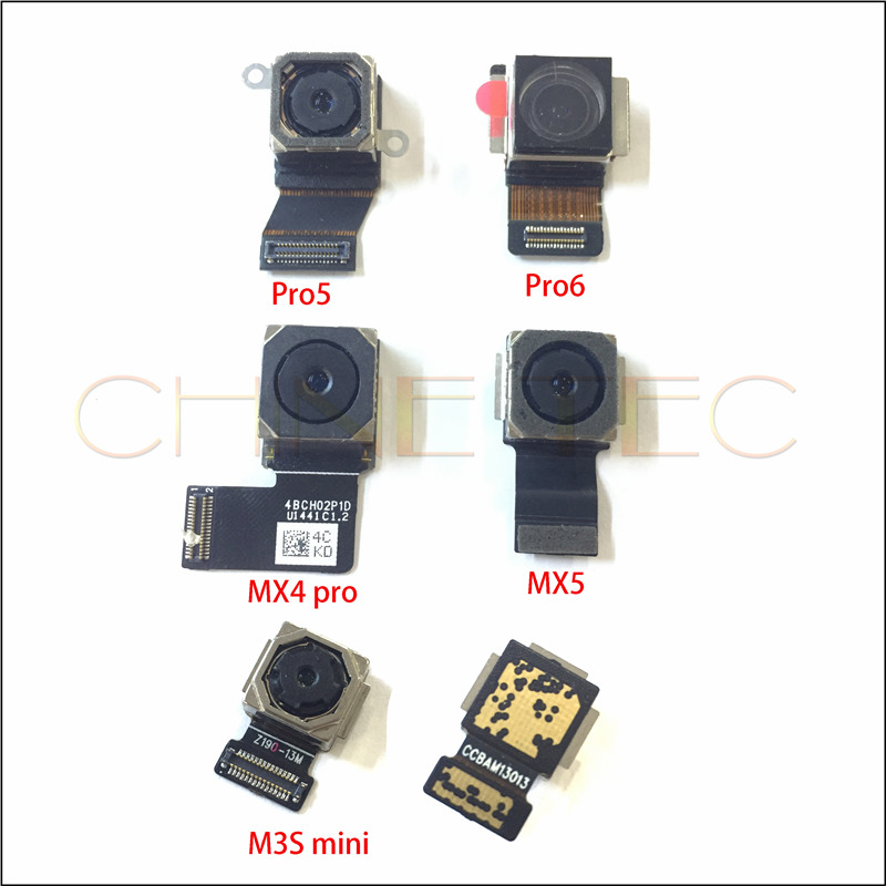 1pcs original tested ok back rear <font><b>camera</b></font> For <font><b>Meizu</b></font> MX4 MX4 pro MX5 MX5 pro MX6 PRO6 <font><b>M3S</b></font> mini meilan 3S image