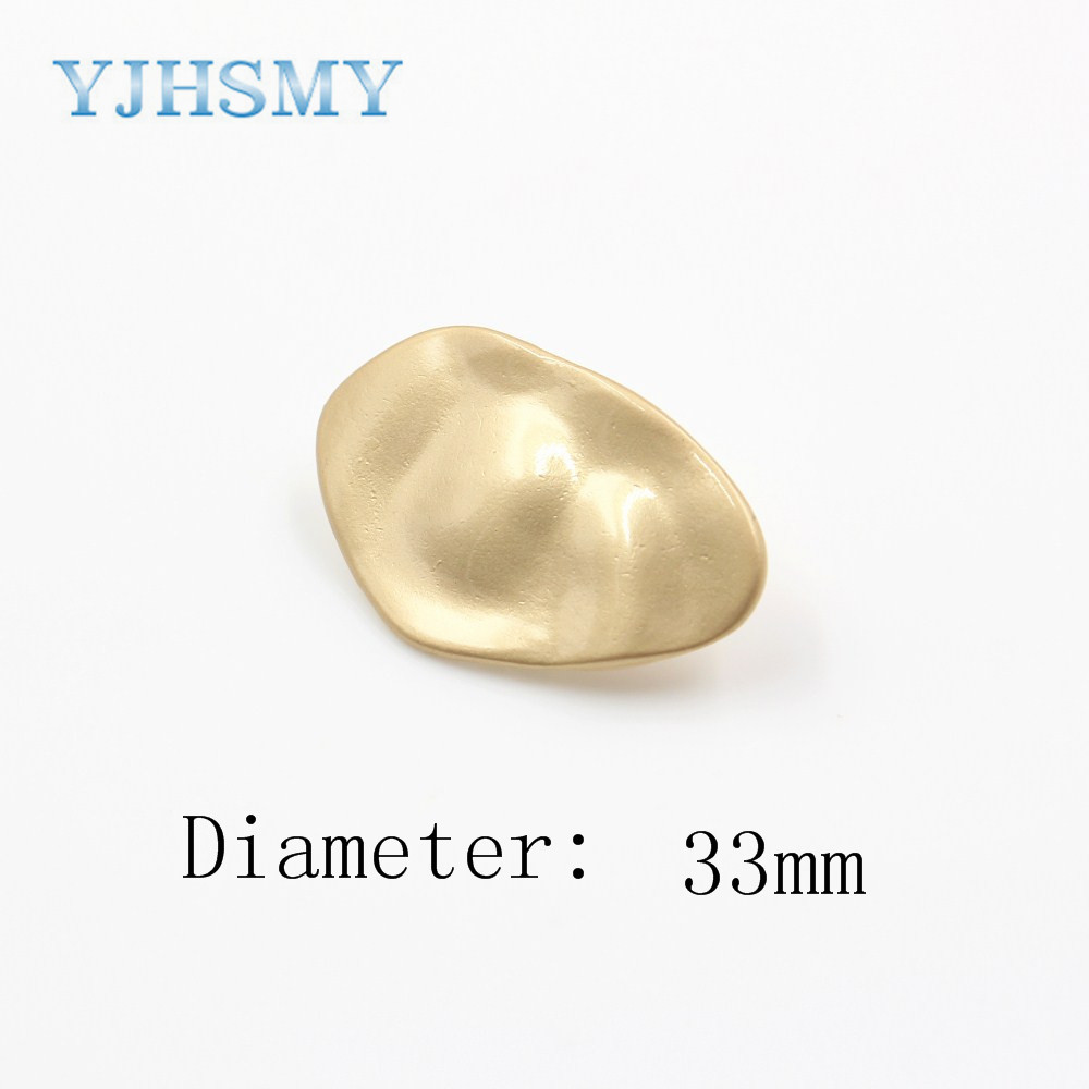 YJHSMY A-18315-<font><b>12</b></font>,33 <font><b>mm</b></font> 10 pcs classic metal <font><b>buttons</b></font>,clothing accessories,DIY craft materials,craft sewing accessories <font><b>button</b></font>. image