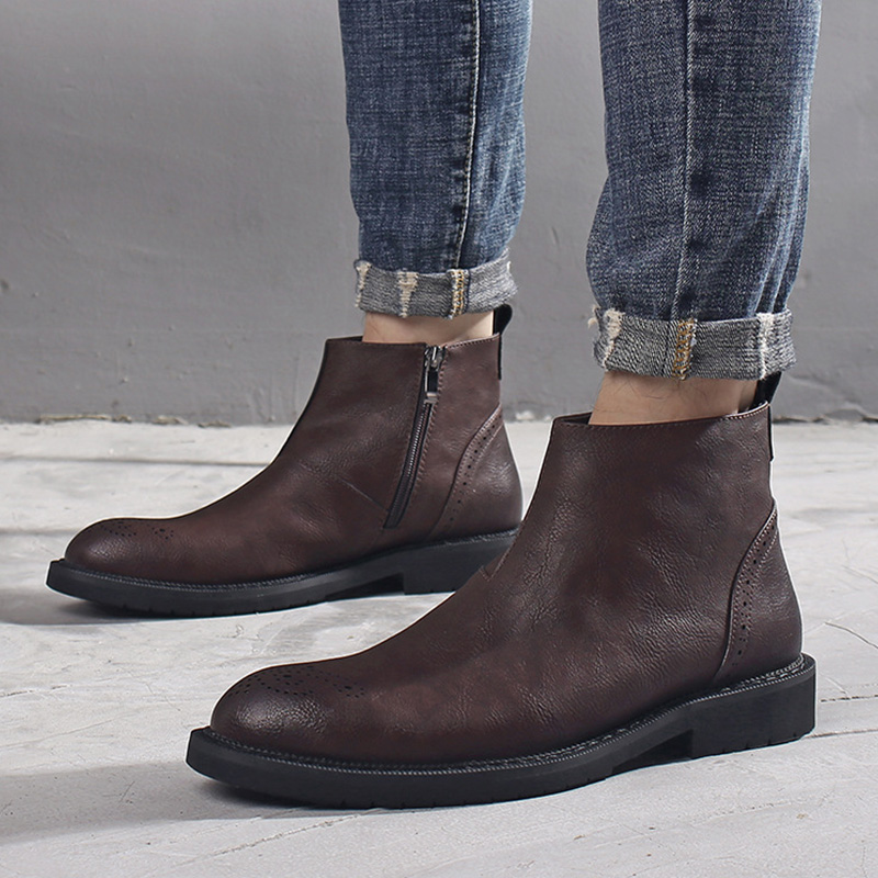 2020 Spring Chelsea Boots Men Early