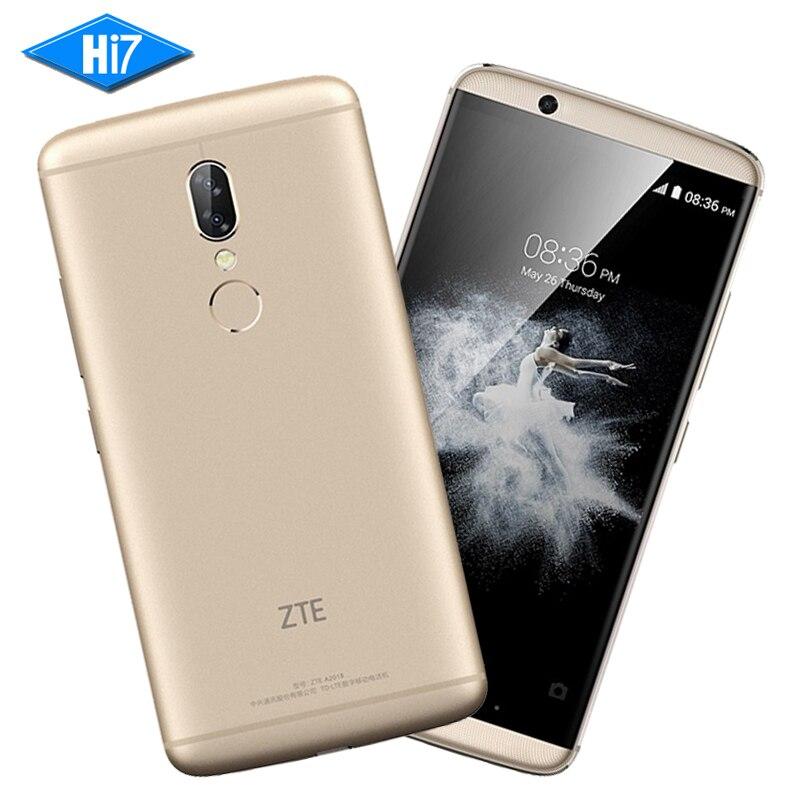 New ZTE Axon 7S A2018 4GB RAM 128GB ROM Snapdragon 821 5.5 inch Dual SIM Dual Rear Camera 20MP+12MP NFC LTE 4G Mobile Phone