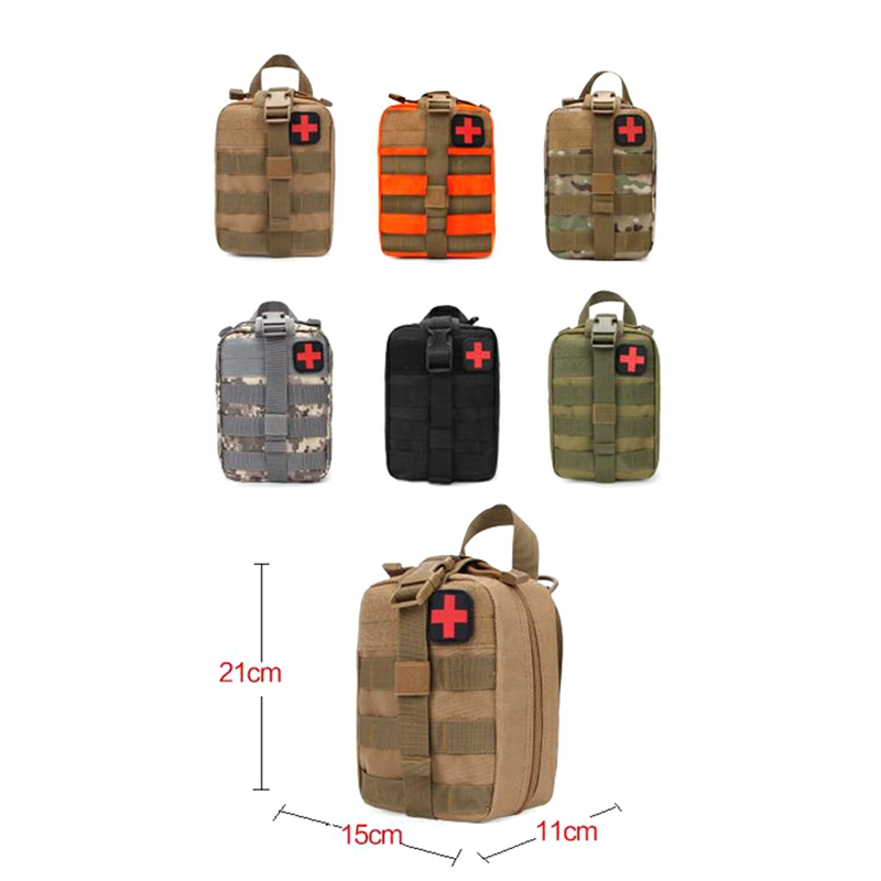 Outdoor Waterproof Travel First Aid Kits Oxford Cloth Tactical Waist Pack Camping Climbing Bag Black Emergency CaseOutdoor Waterproof Travel First Aid Kits Oxford Cloth Tactical Waist Pack Camping Climbing Bag Black Emergency Case