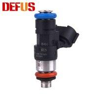 Inyector de combustible Defo 1X OE 0280158821 para gasolina metanol 210lb 1300cc  inyector de flujo de alta impedancia  coches modificados a juego