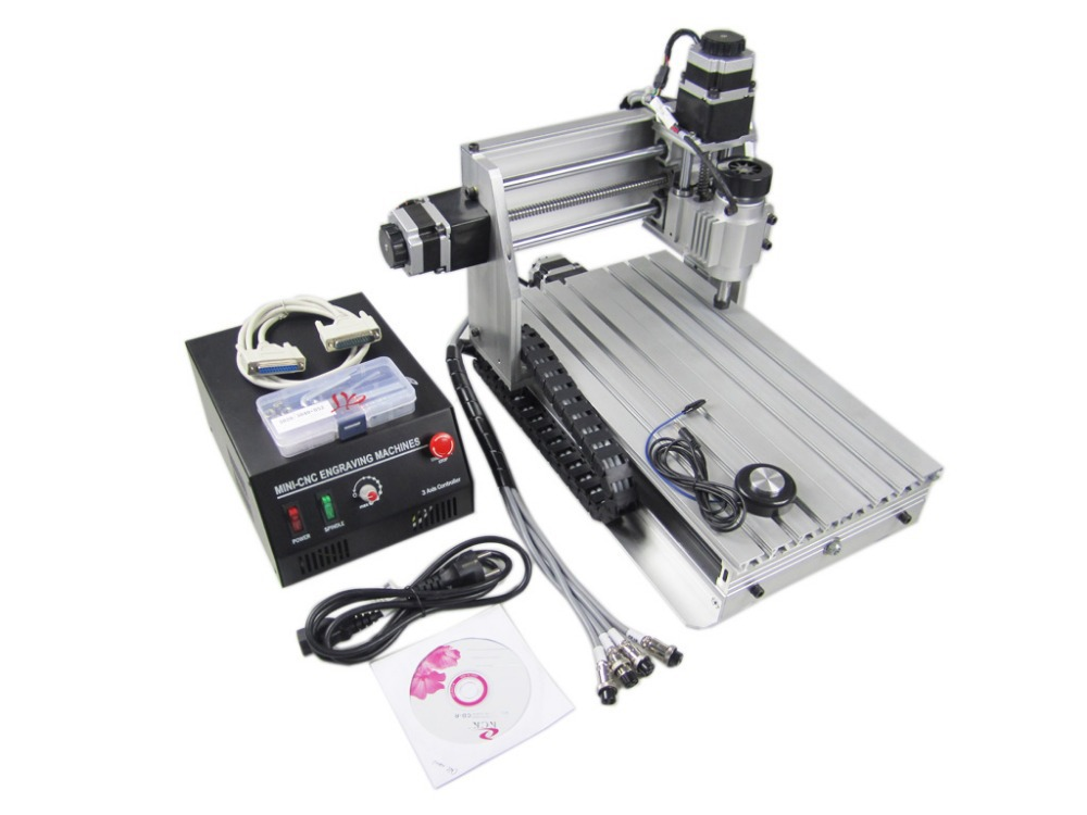 Mini CNC 3020Z-DQ router with ball screw and tool auto-checking instrument, upgraded from CNC 3020 engraving machine no tax mini desktop cnc milling engraving machine cnc 3020z d300 with ball screw and 300w spindle