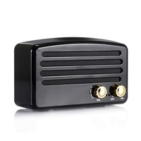 Portable FM Radio T5 Retro ABS Nostalgic Mobile Phone Audio Radio Mini Bluetooth4.2+EDR Class2 Speaker With TF Port