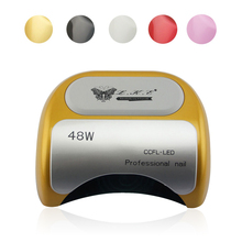 48W UV Lamp Nail Polish Dryer LED White Light 10S 20S 30S Drying Fingernail&Toenail Gel Curing Nail Art Dryer Manicure