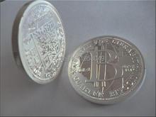 Internet theme Titan one bitcoin America souvenir coin,10pcs/lot free shipping silver coin 999