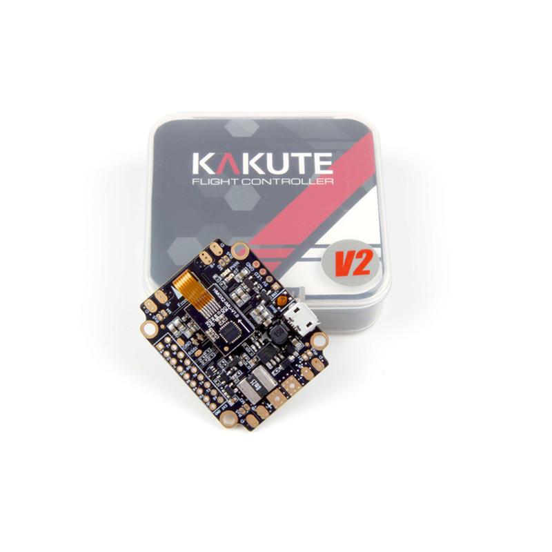 Holybro Kakute F4 AIO All in One V2 Controllore di Volo STM32 F405 MCU Integrata PDB OSD per RC DroneHolybro Kakute F4 AIO All in One V2 Controllore di Volo STM32 F405 MCU Integrata PDB OSD per RC Drone