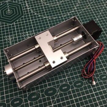 1 ชุดเครื่องแกะสลัก CNC Z แกนเลื่อนตาราง 120 มม. CNC Z shaft