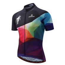 MILOTO Bike Team Pro Cycling Jersey Ropa Ciclismo 2017 mtb Bicycle Cycling Clothing Summer Bike Jersey Shirt Maillot Ciclismo недорго, оригинальная цена