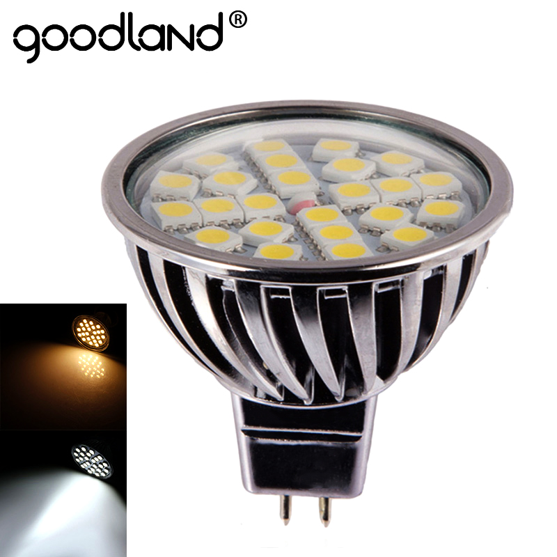 Goodland LED Lamp MR16 LED Spotlight Dimmable LED bulb 12V 7W Aluminum For Living Room Bedroom Lighting
