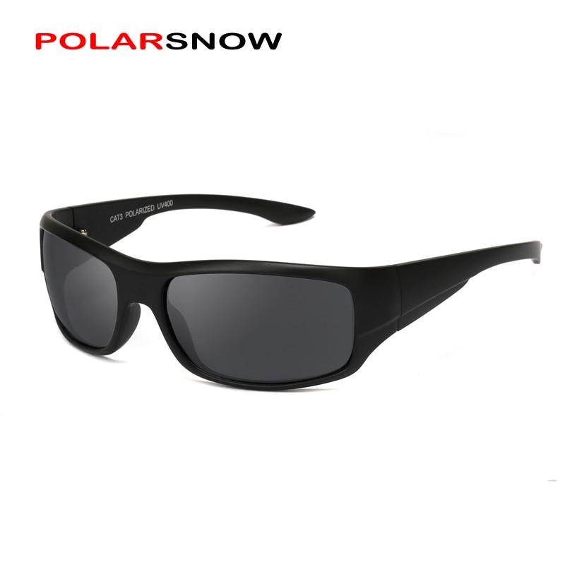 POLARSNOW 2019 Polarisierte Neue Sonnenbrille Männer Top Qualität Männlichen Sonnenbrille Sport Brillen Marke Design UV400 männer Oculos PS8605